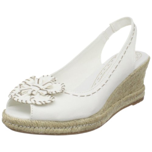 Naturalizer Women's Berlynn Espadrille,White Fabric,8.5 M US