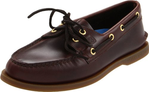 Sperry Top-Sider Men's A/o 2-eye Amaretto Boat Shoe 0195214 7.5 UK, 8.5 US