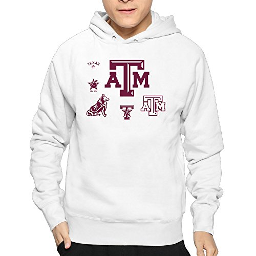 Lightweight 80's Juniors Man's Texas A&M Aggies Small Hoodies (Yeti Cooler Emblem compare prices)
