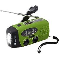 iRonsnow IS-088U+ Dynamo Solar Radio with LED Flashlight & 1000mAh Emergency Power Bank (Green)
