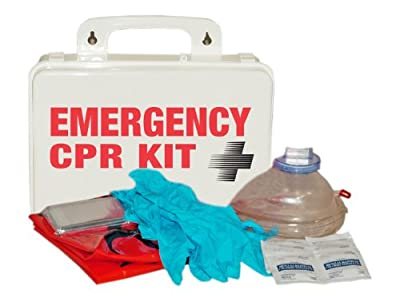 Pac-Kit 3025 16 Piece Emergency CPR Kit in Weatherproof Plastic Case from Pac-Kit