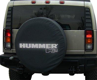 hummer h2 matte black soft with non reflective logo spare. Black Bedroom Furniture Sets. Home Design Ideas