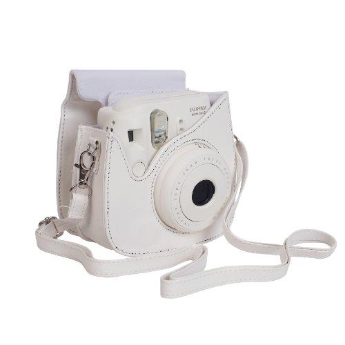 Fujifilm Housse pour Appareil Photo pour Instax Mini 8  - Blanc