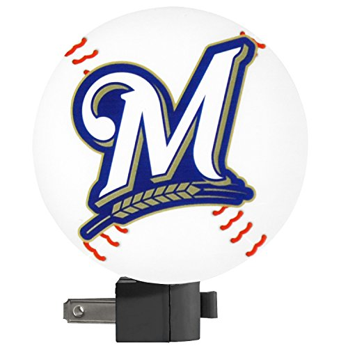 MLB Milwaukee Brewers Night Light - 1