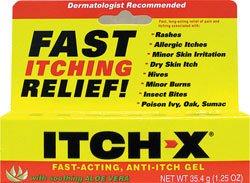 Itch-X Fast-Acting Anti-Itch Gel, 1.25 oz