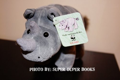 black-african-rhino-rhinosaurus-gray-stuffed-toy-world-wildlife-fund-by-gund