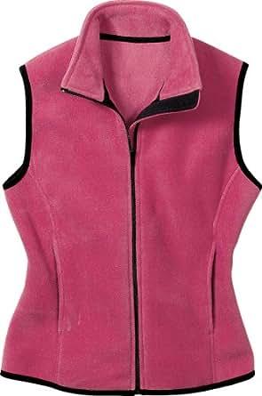 Port Authority Ladies R-Tek Fleece Vest, X-Small, Raspberry