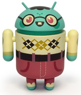 Buy Low Price DYZ Plastics Android Mini Collectible Series 02 Bernard 1/16 Ratio Vinyl Toy Robot Figures (B004SPJFRC)