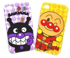 新商品☆★大人気★☆バイキンマン iPhone5 シリコンケース お子様大好き♪ ばいきんマン アイホン5 カバー