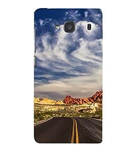 EPICCASE Hilly Road Mobile Back Case Cover For Mi Redmi 2s (Designer Case)