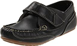 Kid Express Chase,Black Leather,24 EU (8-8.5 M US Toddler)