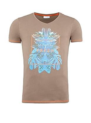 SUMMERFRESH Camiseta Manga Corta Cliff (Moka)