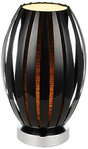Illumini Benross Varese Table Lamp, Black by Benross