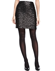 M&S Collection Sequin Embellished Mini Skirt