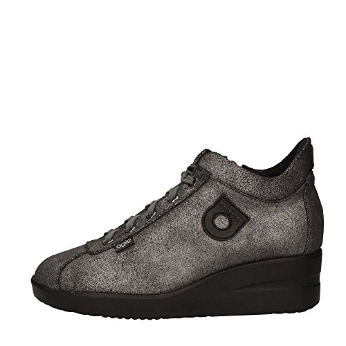 Rucoline 226-82764 Sneakers Donna Pelle Canna Di Fucile Canna Di Fucile 38