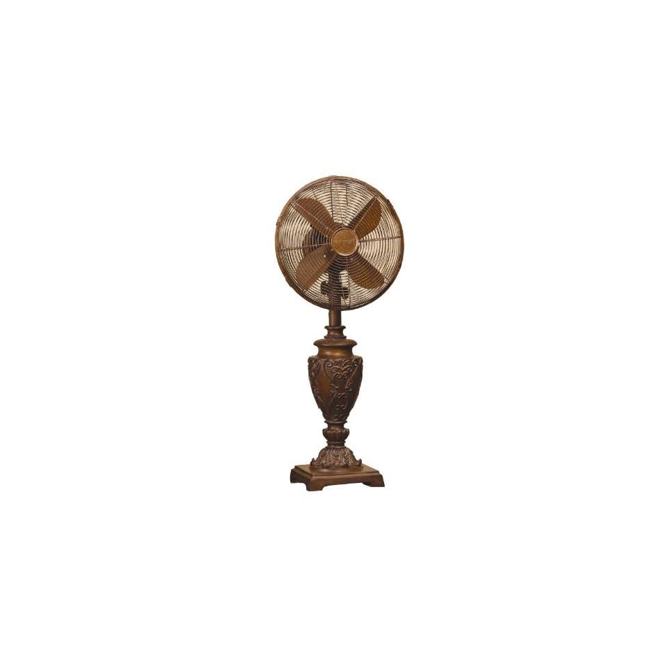 Deco Breeze Table Fan, Casandra, 30 1/2 Inch Tall with 12 Inch Fan Head