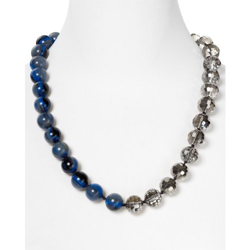 Marc by Marc Jacobs Predator Long Night Sky Necklace - Hematite