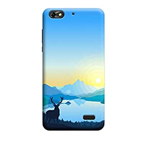 CaseLite Premium Printed Mobile Back Case Cover With Full protection For Huawei Honor 4c (Designer Case)