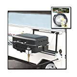 RV Mounted BBQ Motorhome Gas Grill BBQ Trailer Side Mount Barbeque Grill and Hanging Rack with 48 LP Hose Kit (Installation Guide Included)