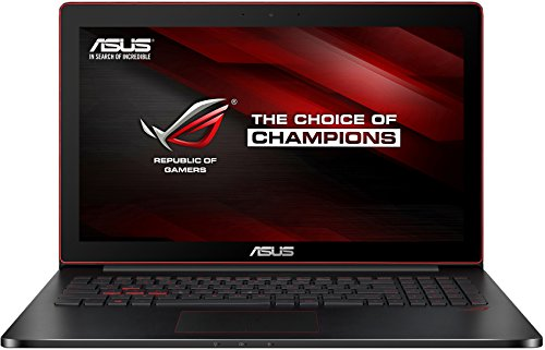 Asus G501JW-CN168T 39,6 cm (15,6 Zoll) Notebook (Intel Core i7 4720HQ, 8GB RAM, 128GB SSD, NVIDIA GF 960M 4GB, Win 10 Home) schwarz