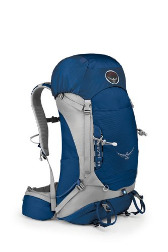 Osprey Packs Kestrel 38 Backpack (Tarn Blue, Medium/Large)