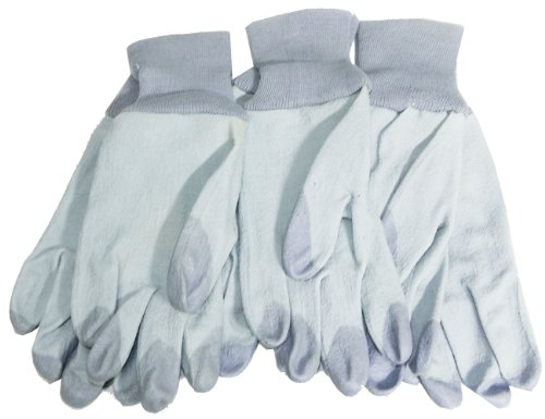 Best Buy! Magid TE336T-M Terra Collection SuperTips Gardening Gloves,3 Pack: Womens Medium,Blue