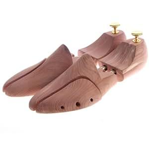 Songmics Embauchoir/forme à chaussure ajustable en bois,forme pied 39-46 LST001