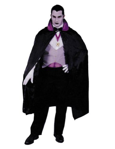 Adult-Costume Deluxe Vampire Red Halloween Costume - Most Adults