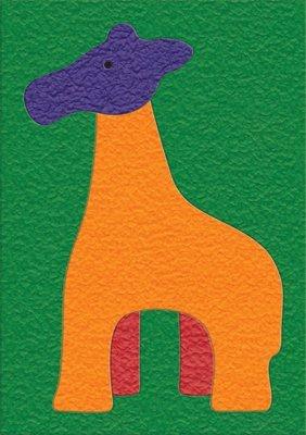 Cheap Fun Lauri 1970 Crepe Rubber Puzzle – Giraffe- Pack of 2 (B005GVB4GW)