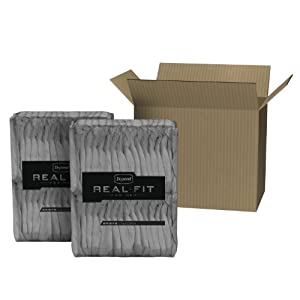 Depend Real Fit Underwear for Men Maximum Absorbency Economy Plus Pack, Large/X-Large, 52 Count
