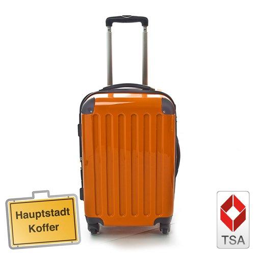 HAUPTSTADTKOFFER® · Hartschalenkoffer ORANGE