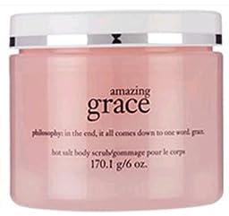 Philosophy Hot Salt Body Scrub 6 oz. (Amazing Grace) by Philosophy