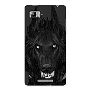 Danger Wolf Back Case Cover for Lenovo Vibe Z K910