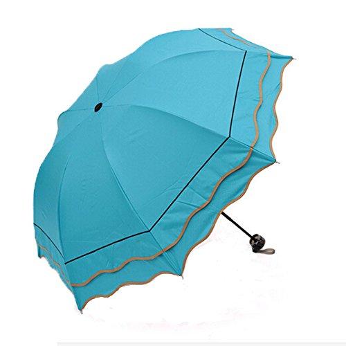 beatiful-compact-blue-princess-vaulted-anti-uv-rain-sun-umbrella-travel-folding-windproof-umbrella
