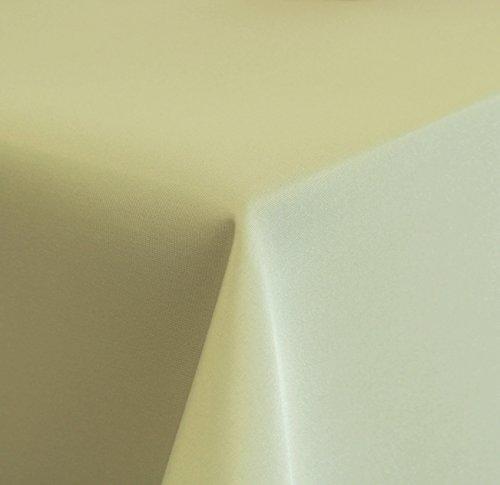 Tischdecke-hochwertiger-Damast-Stil-uni-pflegeleicht-135x180cm-oval-hell-grn