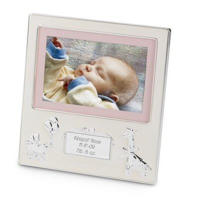 Personalized Baby Picture Frame front-348627