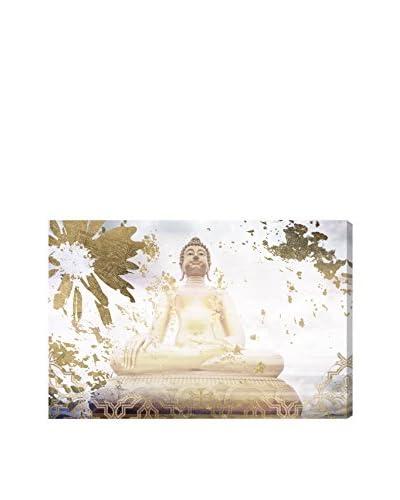 Oliver Gal Buddha Karma Canvas Art