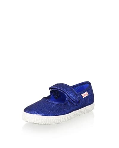 Cienta Kid's Mary Jane Sneaker  [Royal Blue]