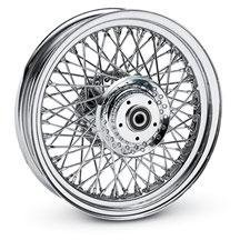 "H-D 21"" Front Softail Chrome Laced Wheel 41203-05"