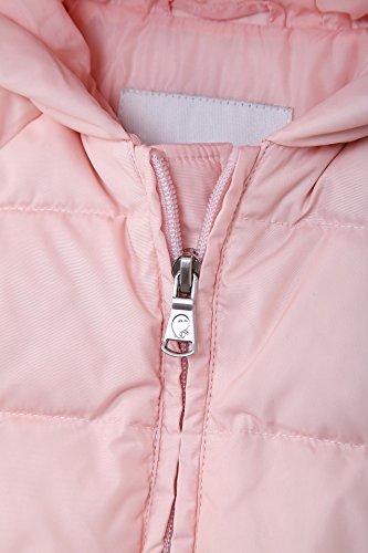Oceankids Baby Girls Newborn Pram Down Bunting Snowsuit Detachable Bottom Pink 12M 9-12 Months