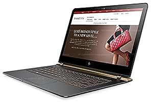 HP Spectre 13-v122TU 13.3-inch Laptop (Core i7-7500U/8GB/512GB/Windows 10 Pro/Integrated Graphics), Dark Ash Silver at amazon