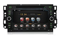 See Pumpkin 7 Inch In Dash Android 4.4 Car DVD Player Radio Stereo GPS Navigation System For Chevrolet Details
