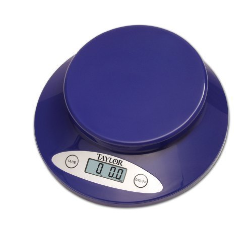 Taylor Electronic Kitchen Scale, Blue by HIC Brands That Cook