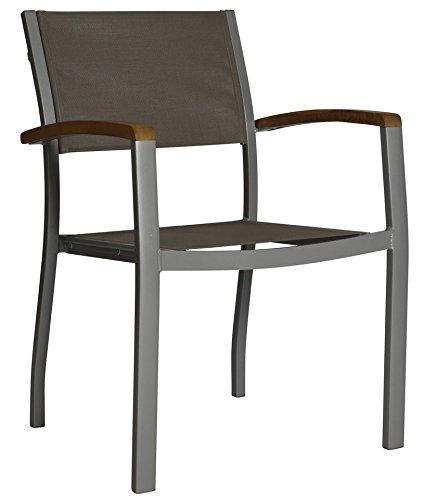 baumarkt direkt Gartensessel »Monaco« 1 Stuhl, grau jetzt kaufen