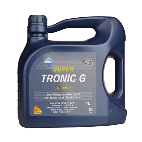 aral-10383-super-tronic-g-0w30-4-liter
