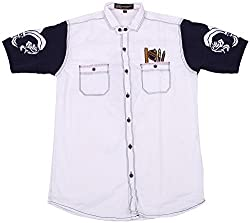 Accurate Boys' Cotton Shirt (SH 135, Multi-Coloured, 6)
