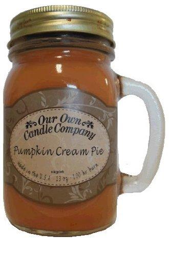 Pumpkin Cream Pie 13 OZ 100 Hrs Burning Candle