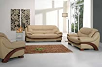 Big Sale Vig Furniture 870 - Leather Sofa Set