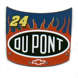 Jeff Gordon #24 Mini Hood Replica Magnet Set by DK HUSKY RACING