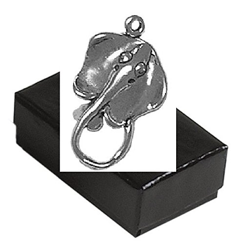 Gift Boxed Sterling Silver 3D Stingray Charm Ocean Animal Jewelry front-281293